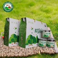 昌盛宝菇河南特产欢乐菇即食菇脆礼盒装6罐420g厂家直销批发包邮