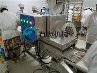 哪里有卖鸡柳条上面包糠及雪花糠机的专业厂家