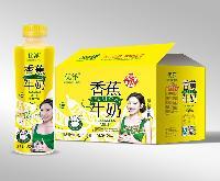 粤联兴供应  优洋500ML香蕉牛奶乳味饮料