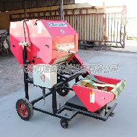 玉米秸秆打捆机  圆捆包膜一体机  济宁牧草打捆机厂家直销