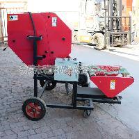 厂家直销全自动秸秆打捆机  青贮粉粹打包机一体机  打捆机价格