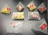 红茶绿茶乌龙茶大红袍全自动电子称三角包袋泡茶包装机