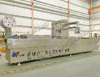 DZDL-420型牛排专用全自动拉伸膜真空包装机生产厂家