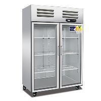 美厨大二门展示冷柜BS1.0G2 美厨标准款展示冰箱