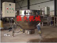 中藥熬煮鍋 阿膠熬制鍋 強大帶攪拌電加熱夾層鍋