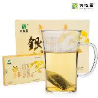 万松堂银杏黄精茶正品旗舰店的零售价是多少钱一盒