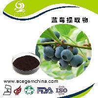 蓝莓提取物欧洲越橘提取物 25%花青素  花色苷