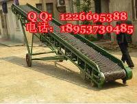 专业生产装车爬坡输送机 加挡板型皮带机