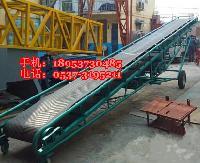 內蒙古移動式裝卸車用皮帶機 沙石水泥輸送傳送帶