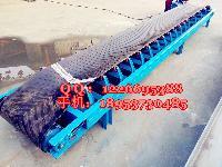 10米皮带传送机报价 可自由升降装车皮带机