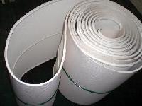 白色流水线皮带,pvc输送线传送带,环形生产线输送带