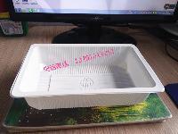 新款加厚型海鲜水产塑料盒/可抽真空豆腐盒