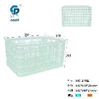 重庆哪里有 PP 蓝色 485 塑料周转筐 批发出售