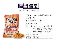 美国进口Pretzel Pete牌饼干100g/袋,口感酥脆,无色素,