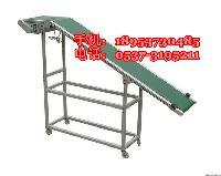 铝合金主架皮带机 PVC食品带输送机 室内运输机