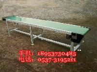 苏州市铝合金框架输送机 PVC食品带皮带传送机