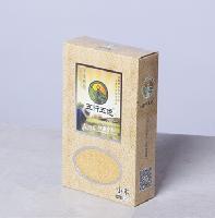优质小米 300g/盒   精品礼盒装   送礼佳品  五行五色品牌