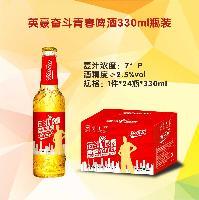 330ml小支啤酒 青春奋斗招商代理