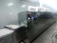 隧道式魔芋粉熟化干燥灭菌一体机定制生产线
