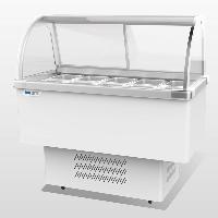 凯雪冰粥柜KX-1.0ZD 凯雪多功能展示柜 小料甜点展示柜