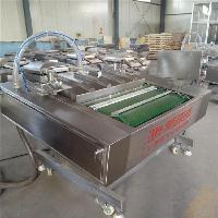 全自动连续滚动式真空包装机 熟食连续滚动真空包装机