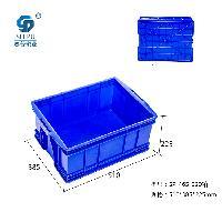 重庆哪里有 PP 蓝色 4号箱 塑料周转箱 批发出售