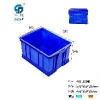 重庆哪里有 PP 蓝色 320大耳朵  塑料周转箱 批发出售