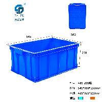 重庆哪里有 PP 蓝色 2号箱 塑料周转箱 批发出售