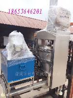 猪油脂油渣固液分离机 油渣挤压榨干设备