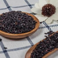黑米王子清山货批发无染色黑香米500克五谷杂粮放心黑大米