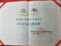 陕西省行业名牌企业