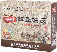 郁金香鲜豆油皮礼品箱 厂家批发健康豆制品