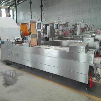 出口标准全自动阿胶糕拉伸膜真空包装机制造商