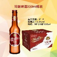 玛卡啤酒330ml瓶装  新品上市 火爆招商