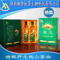 礼盒装特级野生纯正山茶油批发价格
