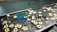 鱿鱼圈加工设备鱿鱼圈裹粉机器设备