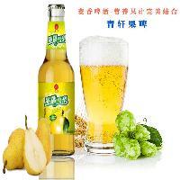 青轩果味啤酒