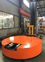 圆筒缠绕包装机无纺布缠绕机滚筒缠绕膜机裹膜机裹包机打包机