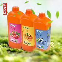 真果真香2L浓缩果汁果味饮料浓浆多口味可选
