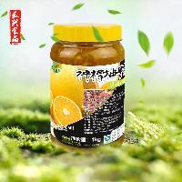 真果真香果粒茶水果果肉饮料柚子茶花果蜂蜜茶  长兴食品直销