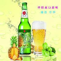 大瓶果味啤酒招商低价供应|舟山|绍兴|衢州|金华地区