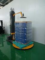 帝虎DH1500F-CS电动压顶缠绕机缠绕包装机缠绕膜包装机