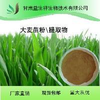 甘肃益生祥 大麦芽碱 大麦苗提取物 10:1   厂家基地种植 现货