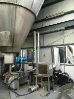 高价回收二手立式沸腾制粒干燥机