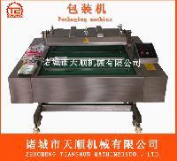 不锈钢DZ-1000滚动输送带全自动多功能食品真空包装机