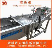 TSQX-6800雪里红清洗脱盐设备(网带输送)