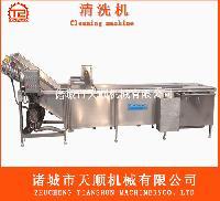 叶菜类蔬菜清洗机(果蔬加工成套设备供应商)