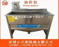 500型电加热水油一体油炸锅