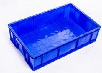 重庆厂家供应 全新料PP 蓝色 535-140型  塑料箱