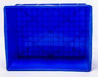 重庆厂家供应 PP 蓝色 380-140-3型 塑料周转箱